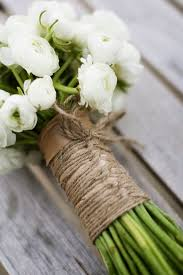 These Rustic Wedding Bouquets Are Super Pretty Arent They To Get That Touch Use Twine Burlap Hessian Lace Or Any Old Shabby Chic Material You