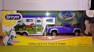 Breyer Stablemates Pick-up Truck & Trailer