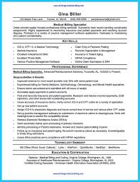 Medical Billing Resume Sample Will Give Ideas And Provide As References Your Own There Are So Many Kinds Inside The Web Of For