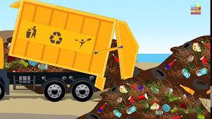 100 Trash Truck Video For Kids Tv Cartoons Movies 2019 Toy Factory Garbage Car Garage Kids