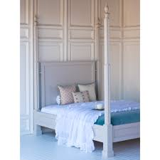 Finnian s Four Poster Bed by The Beautiful Bed pany