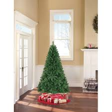 7ft Fibre Optic Christmas Tree by Artificial Christmas Tree Unlit 6 5 U0027 Jackson Spruce Green