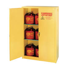 Flammable Safety Cabinets Used by Eagle Flammable Safety Cabinet 45 Gal Yellow 3w209 1947 Grainger