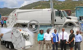 PAHO Donates Garbage Truck To Assist With Waste Collection ...