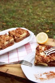 gesunder apfel streusel kuchen