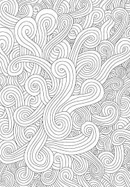Waves Background Adult Coloring