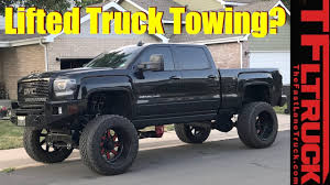 How Much Can My Lifted Truck Tow? Ask. MrTruck - YouTube