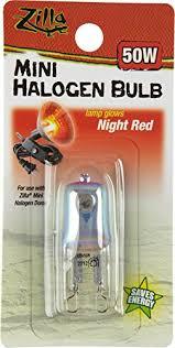 Bearded Dragon Heat Lamp Wattage amazon com zilla reptile terrarium heat lamps mini halogen bulb