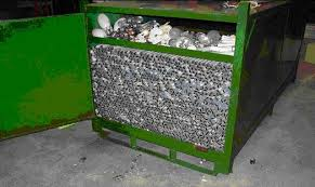 aa waste fluorescent light collection disposal and