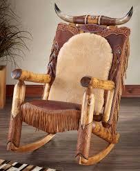 100 Cowboy In Rocking Chair Western Heirloom Longhorn Wild Wings