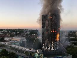 London Fire: Huge Blaze Engulfs 24-storey Grenfell Tower Block Of ...