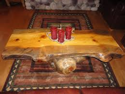Image Of Log End Table Design Ideas