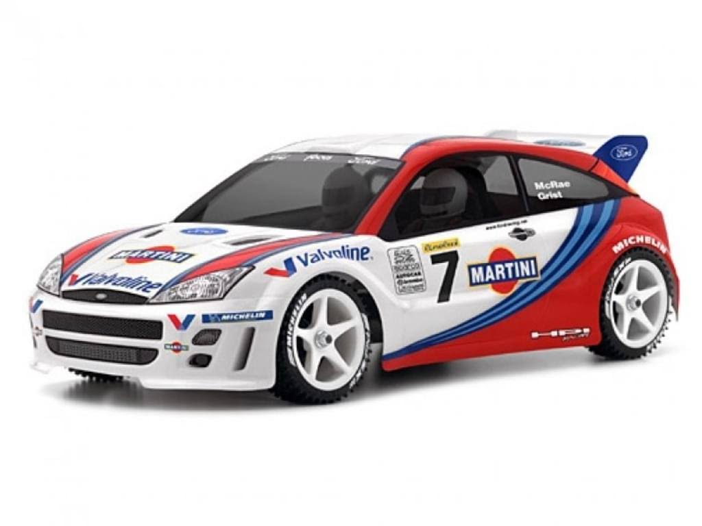 HPI Racing 7412 Ford Focus WRC Body - 200mm