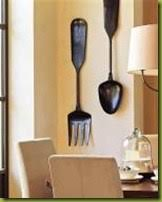 Wood Fork And Spoon Wall Hanging by Fork And Spoon Wall Decor Pottery Barn The Best Spoon In 2017