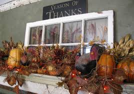 Outdoor Thanksgiving Decorations Lighted