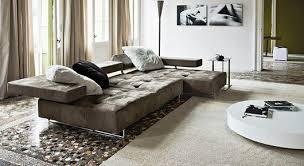 canap arketipo canapé d angle contemporain en tissu 4 places loft by