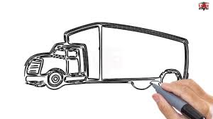 How To Draw A Truck Easy Step By Step Drawing Tutorials For Kids ... Cars And Trucks Coloring Pages Unique Truck Drawing For Kids At Fire How To Draw A Youtube Draw Really Easy Tutorial For Getdrawingscom Free Personal Use A Monster 83368 Pickup Drawings American Classic Car Printable Colouring 2000 Step By Learn 5 Log Drawing Transport Truck Free Download On Ayoqqorg Royalty Stock Illustration Of Sketch Vector Art More Images Automobile