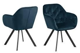 ebuy24 esszimmerstuhl lora esszimmerstuhl mit armlehne blau kaufen otto