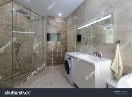 100 Luxury Modern Interior Design Brand New Bathroom Stock Photo Edit Now