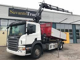 100 Bucket Trucks For Sale In Pa Used Scania P230 4x2 Hiab 1444 Hipro Nosturilla 168tkm Crane