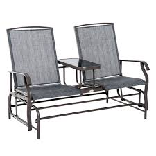 Buy Outsunny Metal Double Swing Chair Glider Rocking Chair Seat ... Havenside Home Chetumal Blue Cushion Folding Patio Rocking Chairs Set Of 2 Fniture Antique Chair Design Ideas With Walmart Swivel Rocker And Best 4 Adorable Modern All Weather Porch Outdoor Sling Teal Garden Ouyeahco Outsunny Table Seating Grey Berlin Gardens Resin Jack Post Knollwood Mission In White Details About Childrens Kids Oak Wood New 83 Ideal Gallery Ipirations For Lugano Portside Plantation 3pc