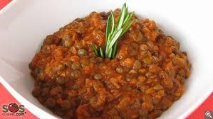 cuisine des lentilles potée de lentilles vertes à la sauce tomate