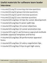 software team leader resume pdf team lead resumes in software eliolera
