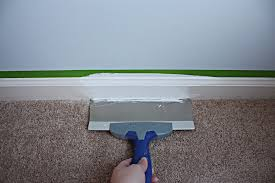 How Remove Paint From Carpet by How To Paint Floor Trim Bower Power