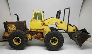 100 Vintage Tonka Truck Metal Loader Olde Good Things
