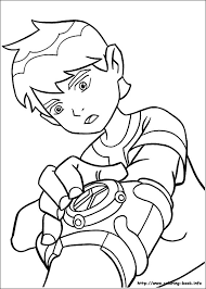 Ben 10 Coloring Pages 13