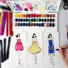 Add Color To Your Drawings With Winsor Newton Cotman Water Colours