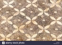 Patterned Mosaic On The Floor Of One Terrace Houses Ephesus Turkey