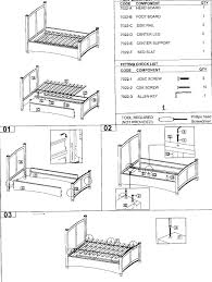 Sears Adjustable Beds by Craftmatic Bed Parts Diagram Home Beds Decoration
