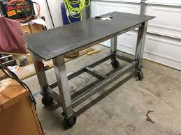 Used Vidmar Cabinets Minnesota by First Welding Table Build