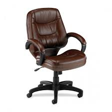 Lorell Westlake Series Managerial Mid Back Chair Fully