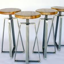 Restaurant Bar Stools Custom Furniture Steel Steels Rustic Reclaimed Wood And Metal Industrial Counter