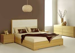 Bold And Modern Light Wood Bedroom Furniture Creative Cherry