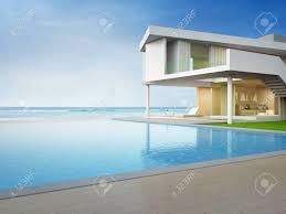 100 Modern Beach House Floor Plans Stock Illustration