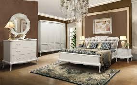 mokko schlafzimmer komplett set modernes barock eichenmassiv weiß