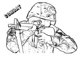 Combat Army Coloring Pages