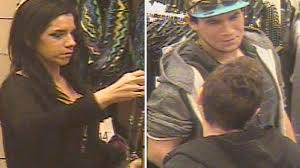Police search for man woman suspected of robbing Nordstrom Rack