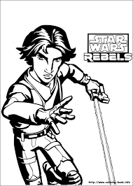 Star Wars Rebels Coloring Pages On Book