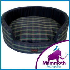 Mammoth Dog Beds by Snooza Buddy Bed Dog Pet Bed Tartan Blue Green Extra Large