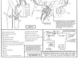 1964 1965 Wiring Diagram Manual Ford Mustang Forum Amazing