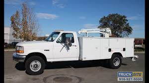 100 Service Truck With Crane For Sale 1997 D FSuper Duty Mechanics For Sale YouTube