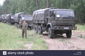100 Mitchell Medium Truck A Polish Army Soldier From The 15th Mechanized Brigade Prepares To