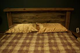 Bamboo Headboard And Footboard by Barn Wood Bed Fram Combining Old Tongue And Groove Pine With