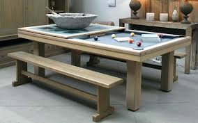 diy pool dining table combo ping pong room canada for sale ireland