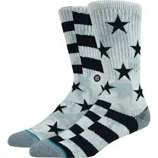 Stance Sidereal Crew Socks Grey | Deal Of The Day November ...