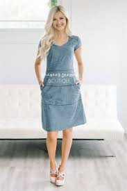 dark chambray cute dress modest dress modest bridesmaids dresses